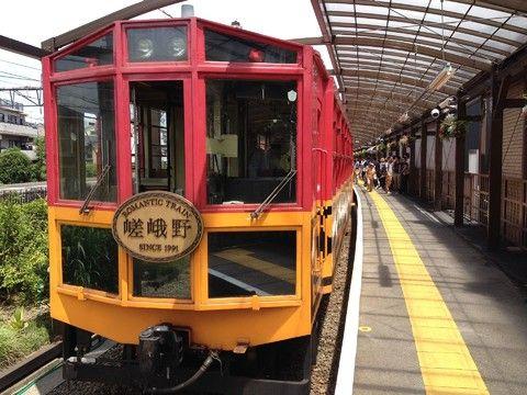 羅曼蒂克鐵道-嵯峨野小火車