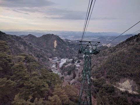 六甲山纜車