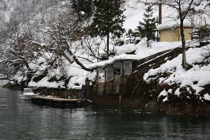 庄川峽遊覽船