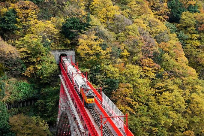 黑部峽谷鐵道觀光小火車