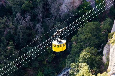 蒙瑟拉特山空中纜車