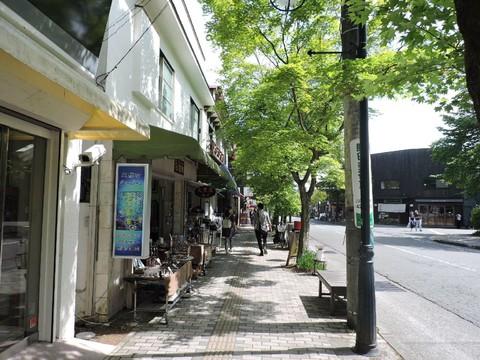 舊輕井澤銀座大道