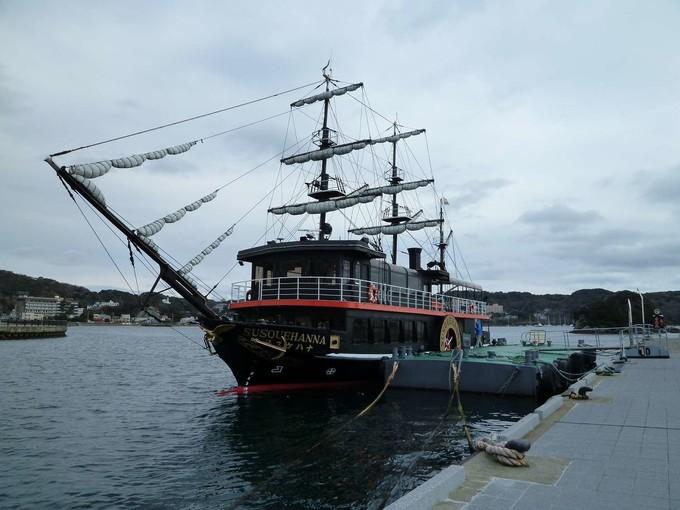 下田港黑船