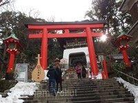 江之島神社及弁財天老街