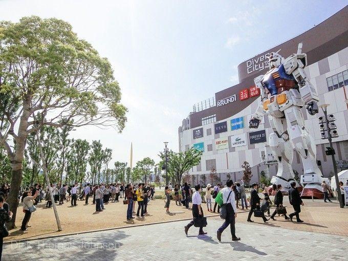 DiverCity Tokyo Plaza台場購物廣場
