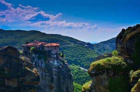 旅展雙雄【冬戀愛琴海】希臘世界中心、阿拉霍瓦、天空之城、愛琴海三小島7日之旅