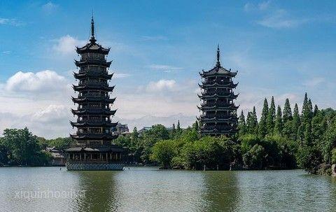 桂林榕杉湖景區