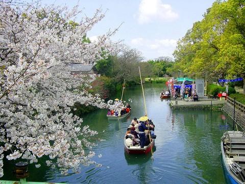 柳川人力遊船