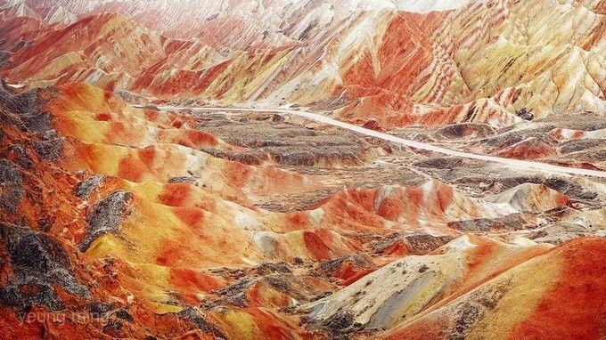 張掖丹霞地質文化公園