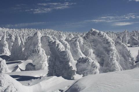 新潟+藏王樹冰溫泉美食五日-遠東周一出發