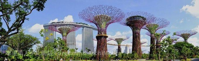來去新加坡-愛情摩天輪+超級樹+新加坡環球影城+濱海灣 四日