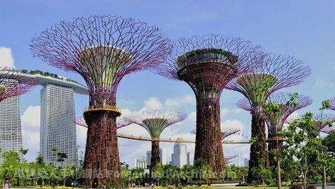 星光閃耀-愛情摩天輪+超級樹+新加坡環球影城+濱海灣 四日