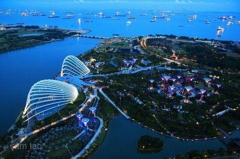 經典新加坡~環球影城、S.E.A.海洋館、水上計程車、河川生態園、濱海灣花園4日