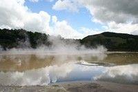 Pohutu間歇噴泉
