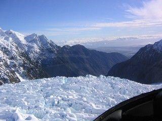 西海岸國家公園冰河