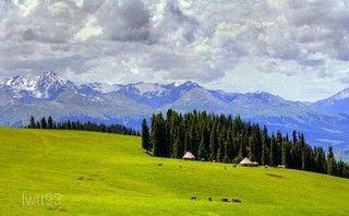 天山天池風景區