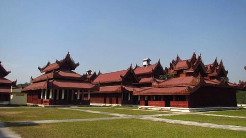 緬甸曼德勒皇宮