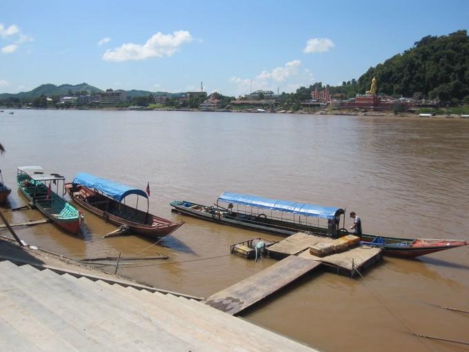 金三角船遊湄公河