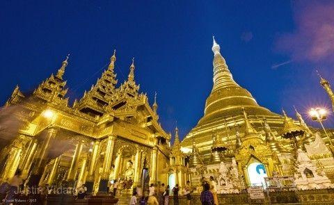 緬甸-黃金傳奇五日(仰光+丁茵+柏固)