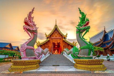 亞洲航空泰北玩透透南邦帕耀湖叢林騎象六日遊