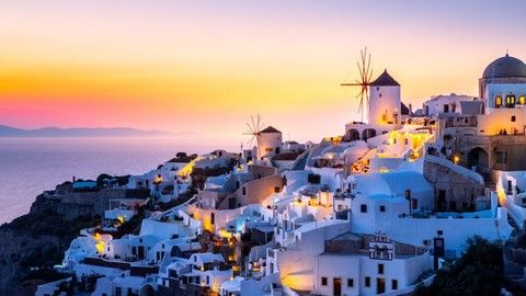 魅力歐洲 希臘愛琴海全覽 彩虹島、米克諾斯島、聖多里尼島、離島住五晚、天空之城、驚豔藍洞之旅 14日