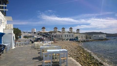 【希臘渡假趣!雙島10天】米克諾斯島∼天堂海灘、2晚聖托里尼、天空之城梅提歐拉、伊亞夕陽