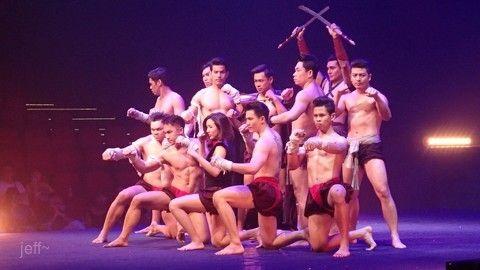 泰拳表演-傳奇生活秀