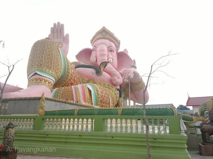 粉紅大象神廟