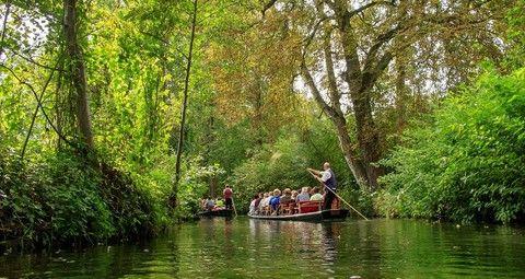 史普雷河遊船