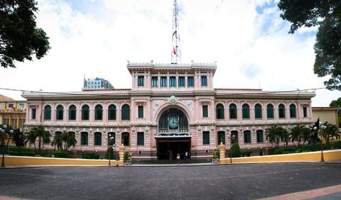 胡誌明巿中央郵局