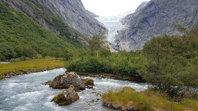 布利克斯達爾冰河