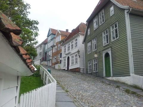 卑爾根舊市街