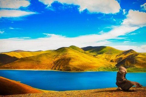 羊卓雍錯湖