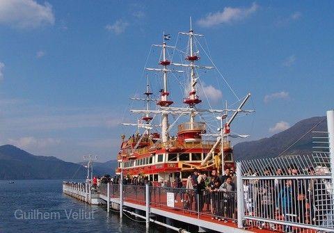 箱根蘆之湖海盜船