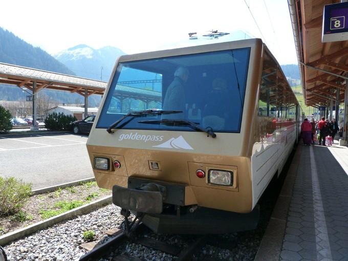 黃金路線景觀火車