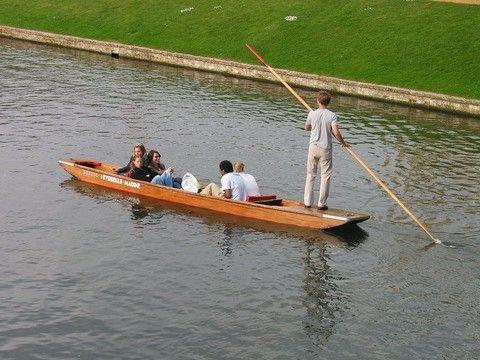 康河撐篙遊船