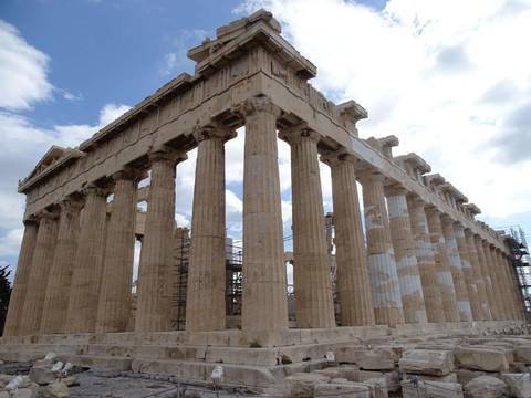 希臘 天空之城 雙島十天之旅