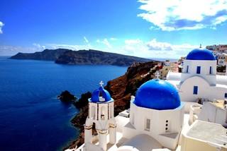 ◆魅力歐洲◆希臘愛琴海全覽13天【彩虹島、米克諾斯島、聖多里尼島、離島住五晚、天空之城、驚豔藍洞、Outlet購物趣】
