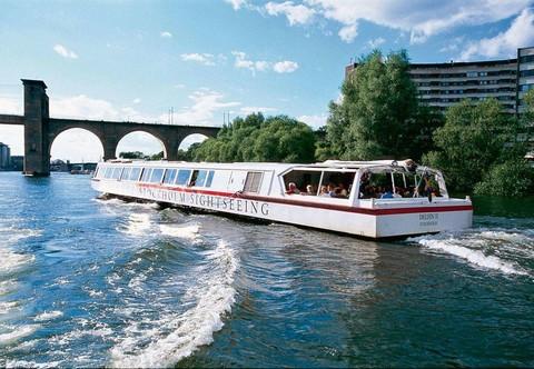 斯德哥爾摩運河遊船