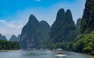 喜見桂林~探索神奇天坑、堯山之巔、鑽石水道、印象劉三姐、五★灕江瀑布五日