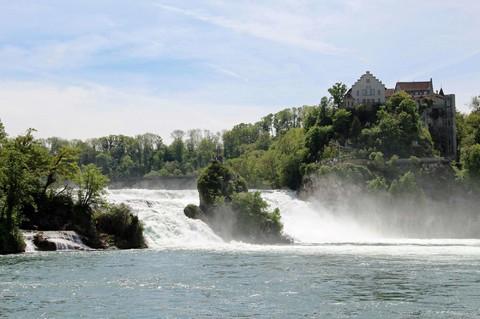萊茵河瀑布