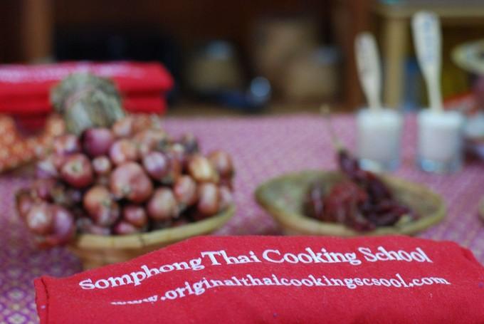 泰式料理教學-Somphong Thai Cooking School