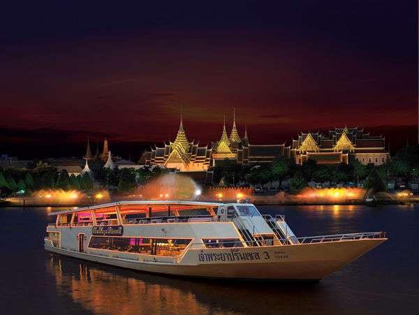 昭披耶公主號夜遊湄南河