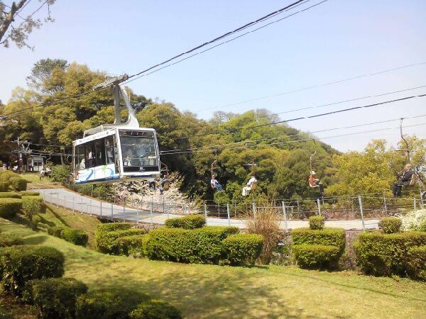 松山城纜車