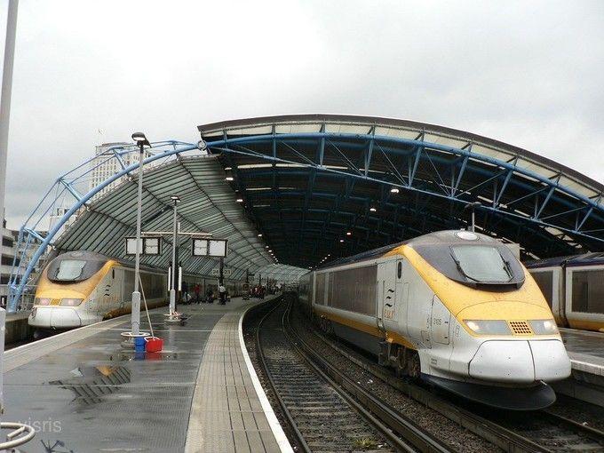 歐洲海底隧道火車