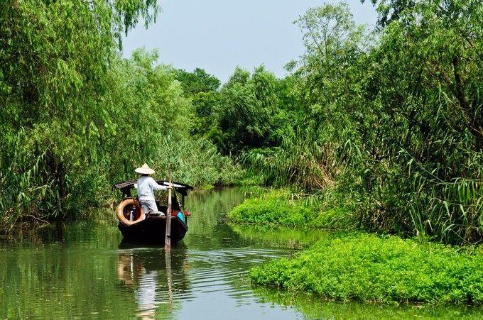 西溪濕地公園遊船