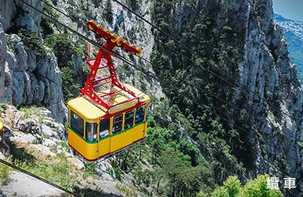 八公山道立公園纜車