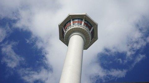 登上釜山塔