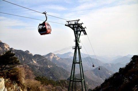 泰山登山纜車