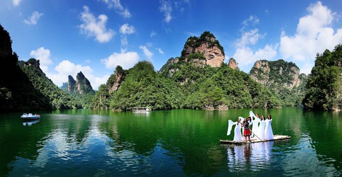 寶峰湖遊船